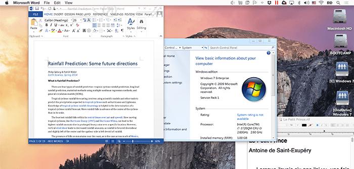Welcher Darstellungsmodus in Parallels Desktop gefällt dir am besten?