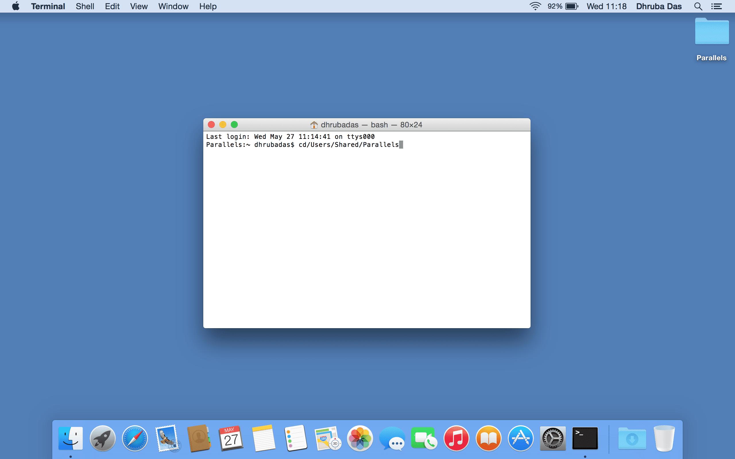Parallels Mac Benutzer 3