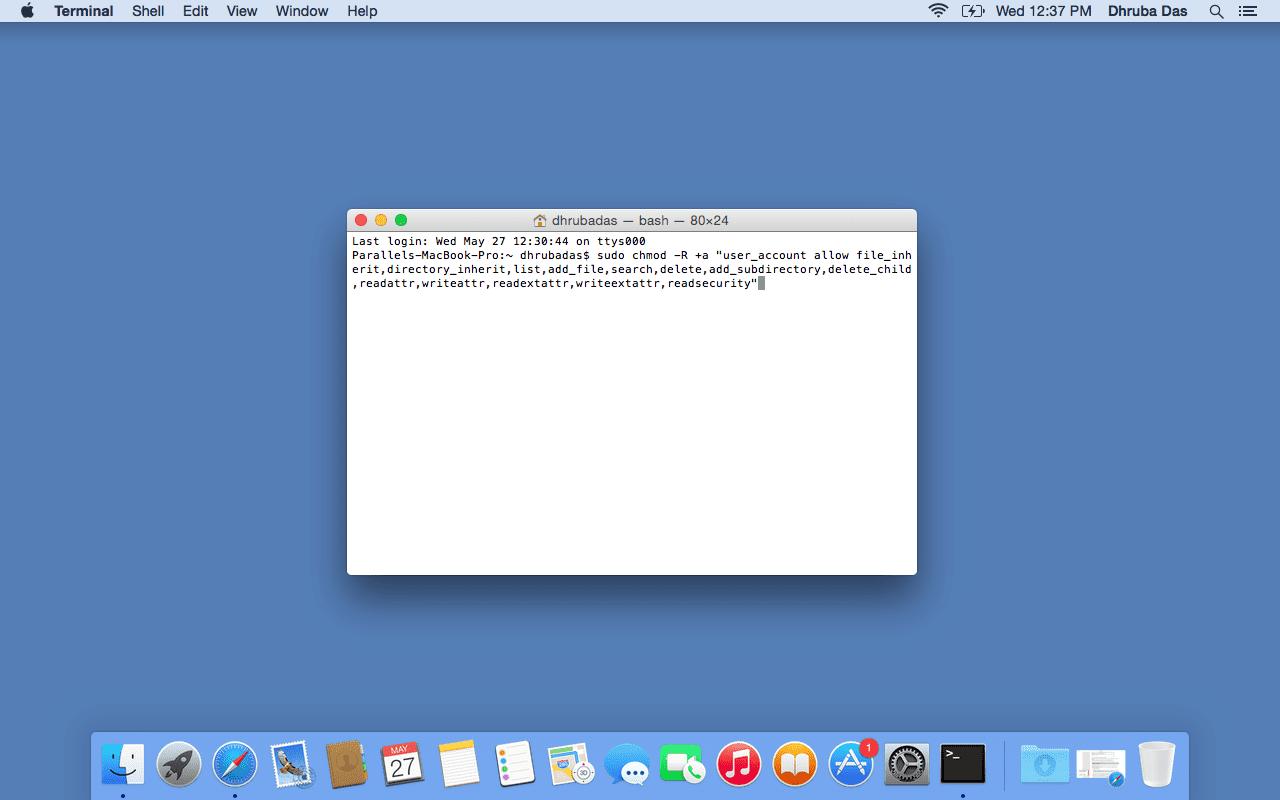 Parallels Mac Benutzer 5