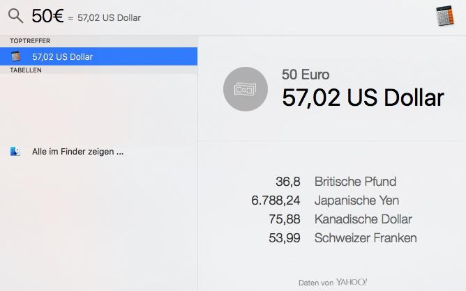 Parallels El Capitan 50€