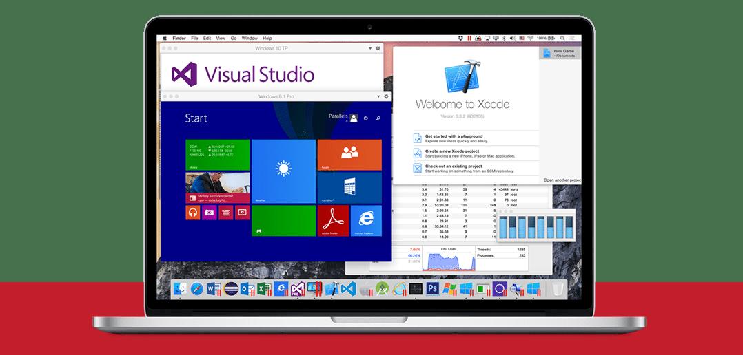 Parallels Desktop für Mac Pro Edition – Überblick