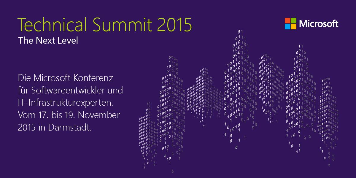 Parallels auf dem Technical Summit in Darmstadt