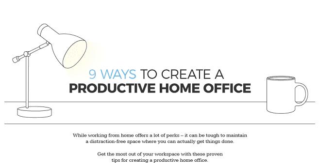 Home-Office – 9 Wege, um produktiv zu sein
