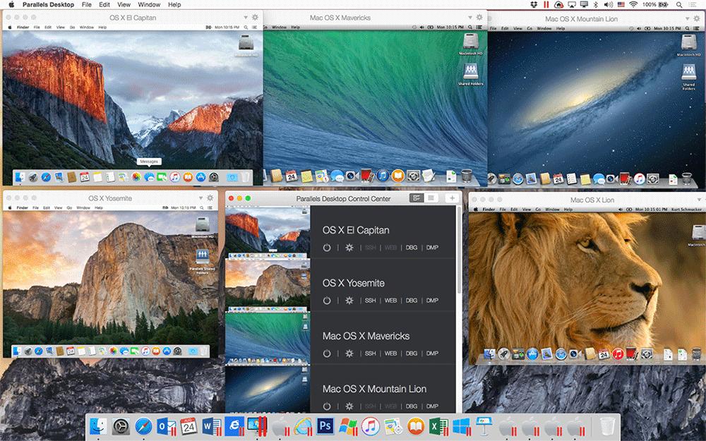 Mac Betriebssysteme