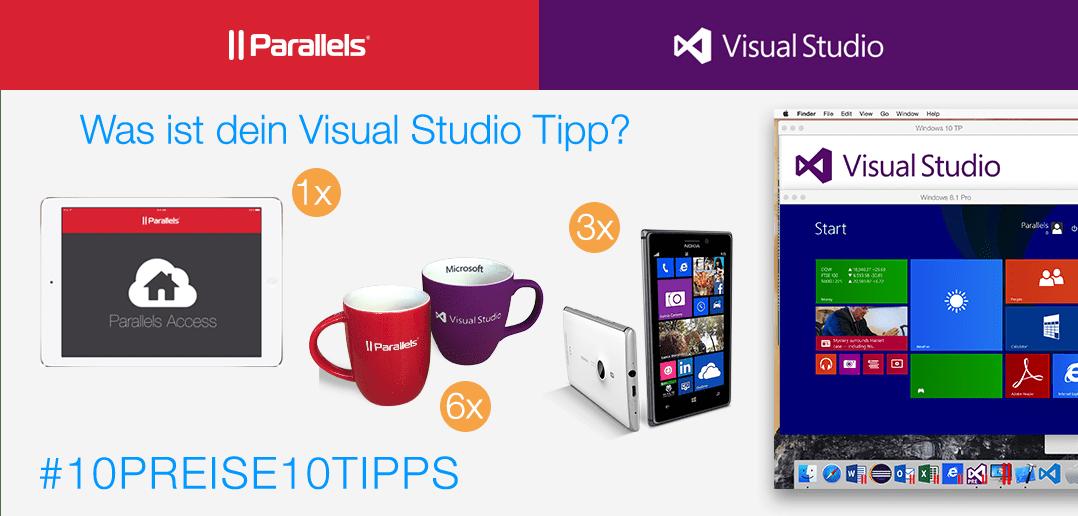 10 Preise für 10 Visual Studio Tipps