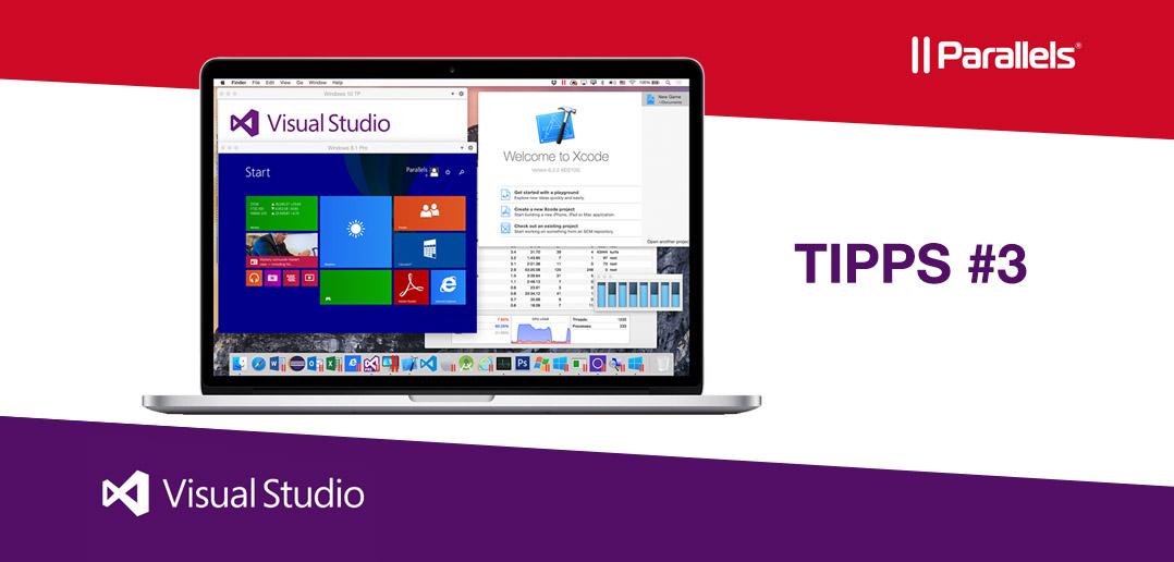 Visual Studio Tipps von und für User (Teil 3)