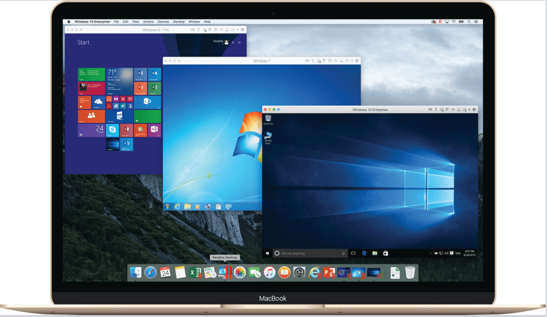 Windows auf Mac