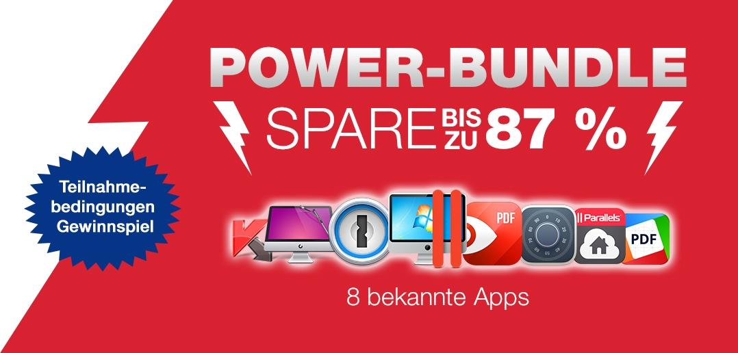 Gewinnspiel Parallels Desktop für Mac Power Bundle!