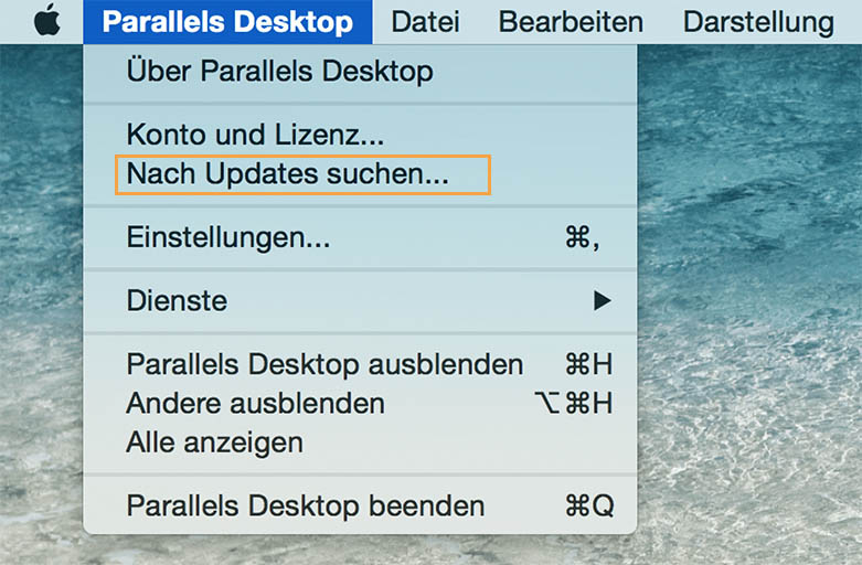 Windows auf Mac