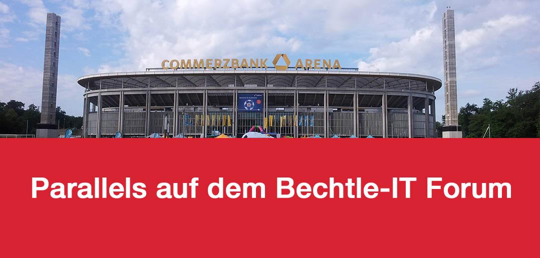 Parallels auf dem Bechtle IT Forum Rhein-Main-Neckar 2016 in Frankfurt