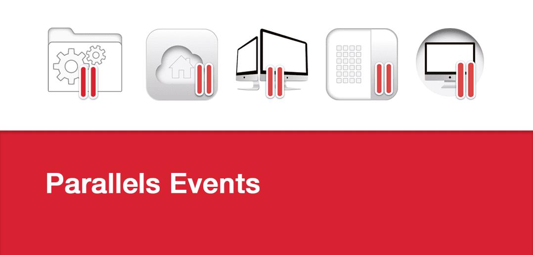 Parallels auf diesen IT-Events