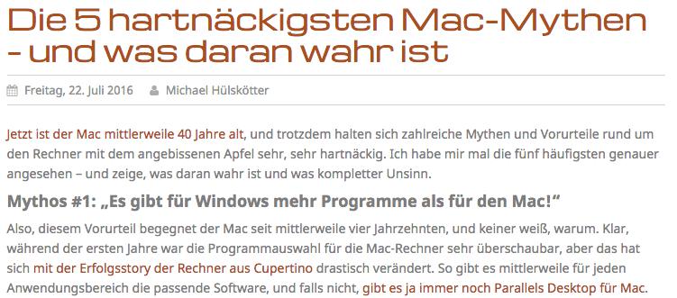 mac mythen