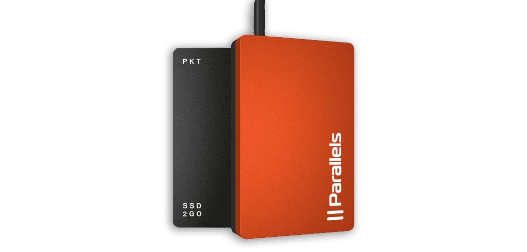 Parallels Desktop VM auf einer externen Festplatte installieren