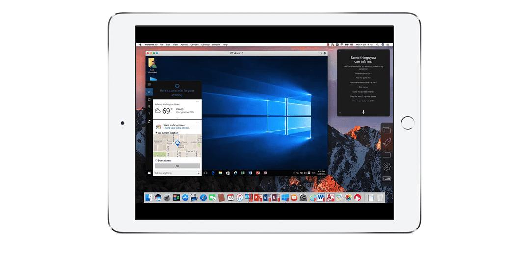 Parallels Access und macOS Sierra