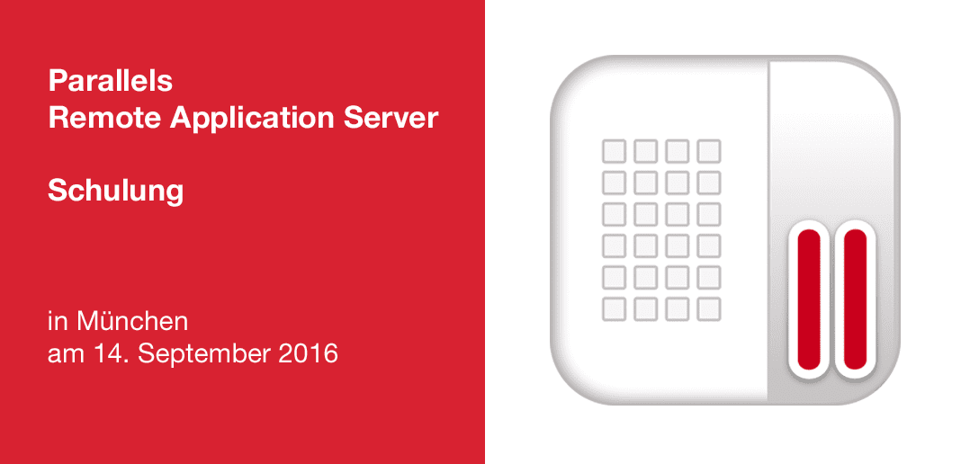 Parallels Remote Application Server Schulung