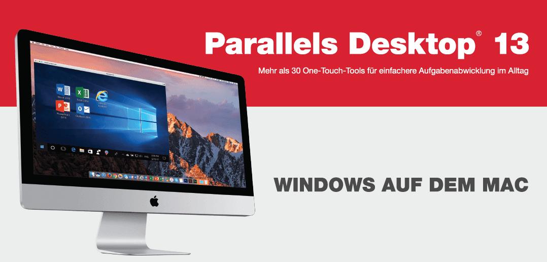 Parallels Desktop 13 für Mac ist da!