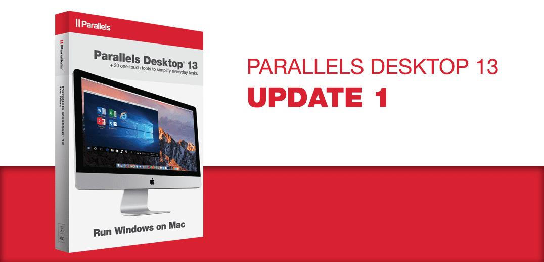 Alle Information über Parallels Desktop 13 für Mac Update 1