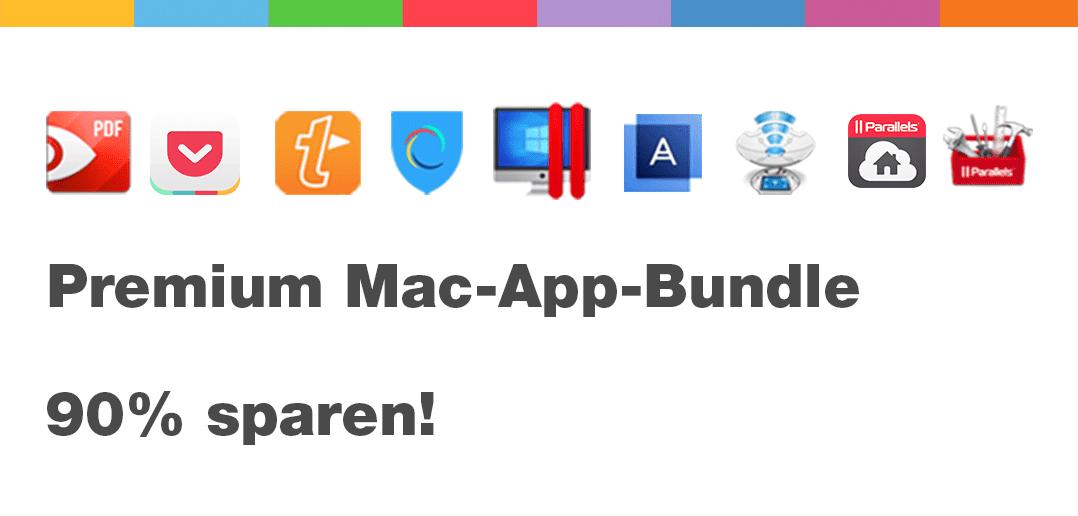 Parallels Desktop kaufen und 8 Mac-Apps KOSTENLOS dazu bekommen!