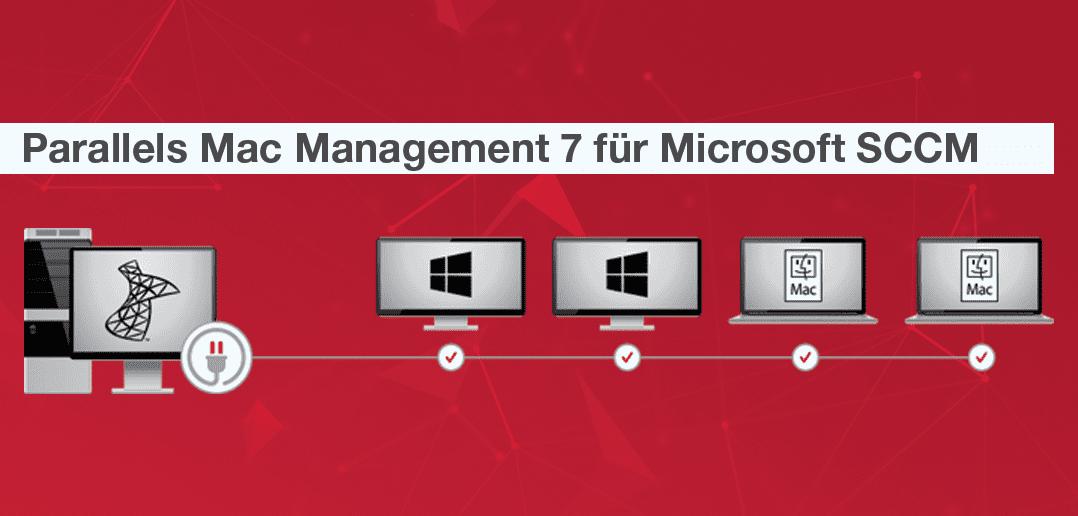 Parallels Mac Management 7 – Fügt das letzte fehlende Puzzleteil zum Mac-Management hinzu