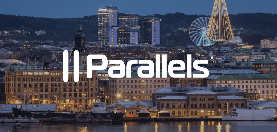 Parallels auf der MacSysAdmin in Göteborg, Schweden