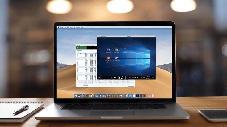Wie Parallels Desktop einige Fenster bei einem Mac-Distributor öffnet (Teil 1)