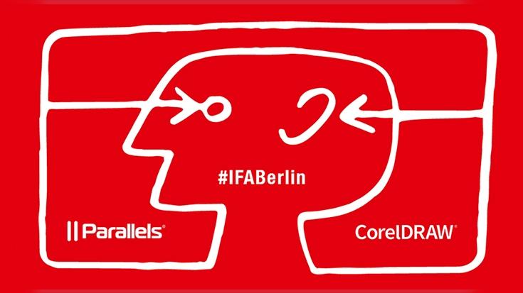 Parallels und CorelDRAW gemeinsam auf der IFA 2019 in Berlin