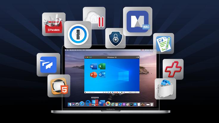 Parallels Premium Mac-App-Bundle 2020 – Bis zu 96 % Rabatt und über 1000 EUR Ersparnis!