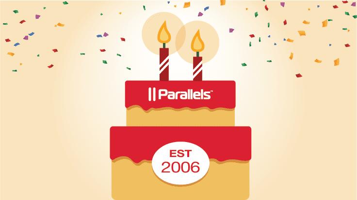 Parallels Desktop feiert seinen Geburtstag mit einem Rabatt von 25%
