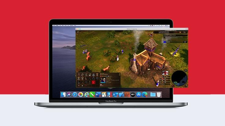 Jetzt das neue Age of Empires III: DE mit Parallels Desktop auf einem Mac spielen