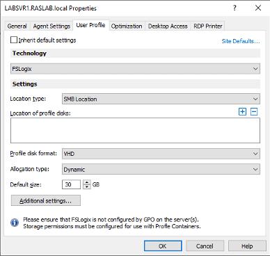 FSLogix-Profilcontainer