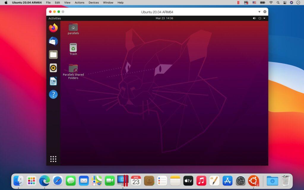 Parallels Desktop M1