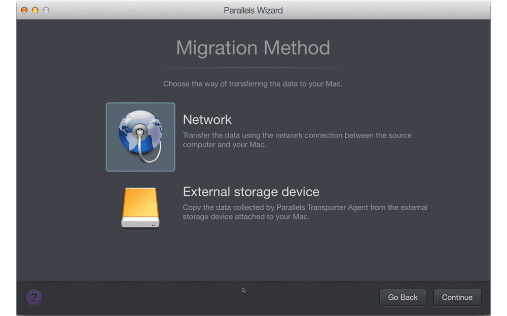 Migrate and transfer data to your Mac
