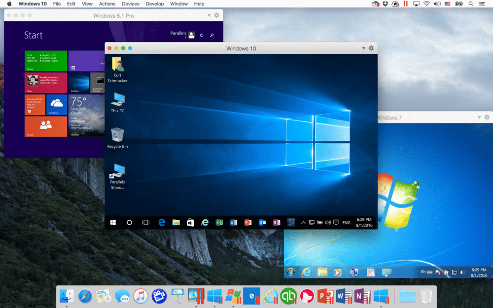 Windows 10 on Mac
