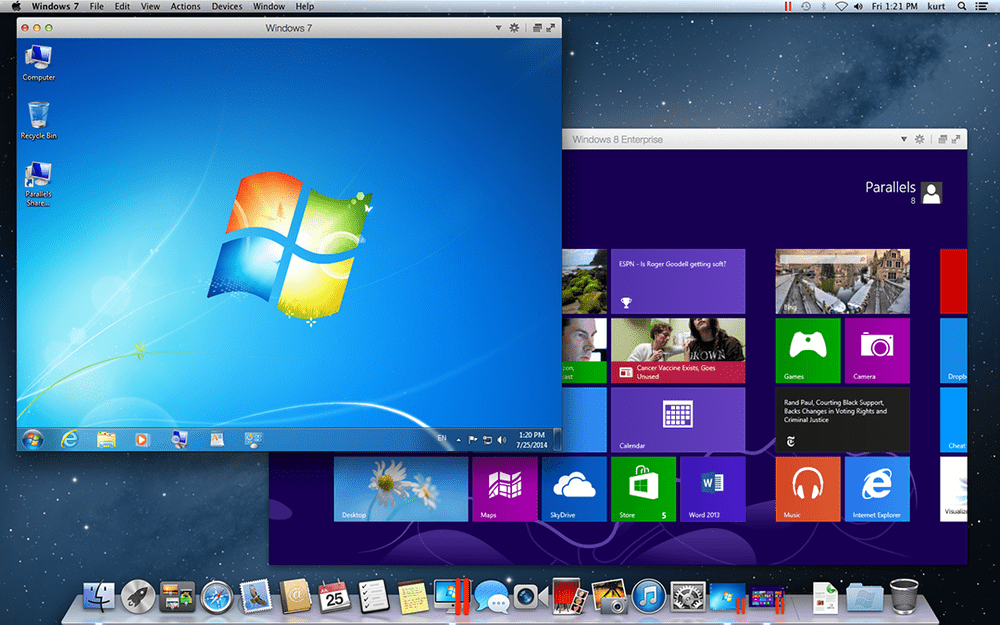 Run Windows on your Mac in separate windows