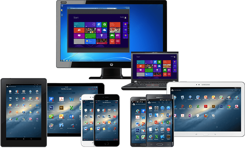 Remote desktop to your Samsung Device from your Mac or PC with Parallels Access.