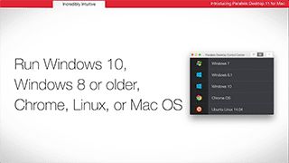 Parallels Desktop for Mac Overview