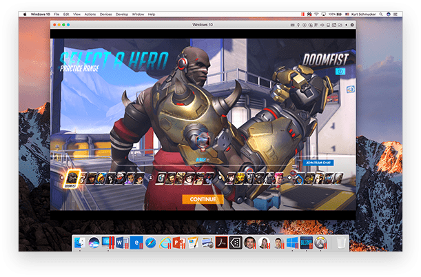 Run Overwatch for Windows on Mac
