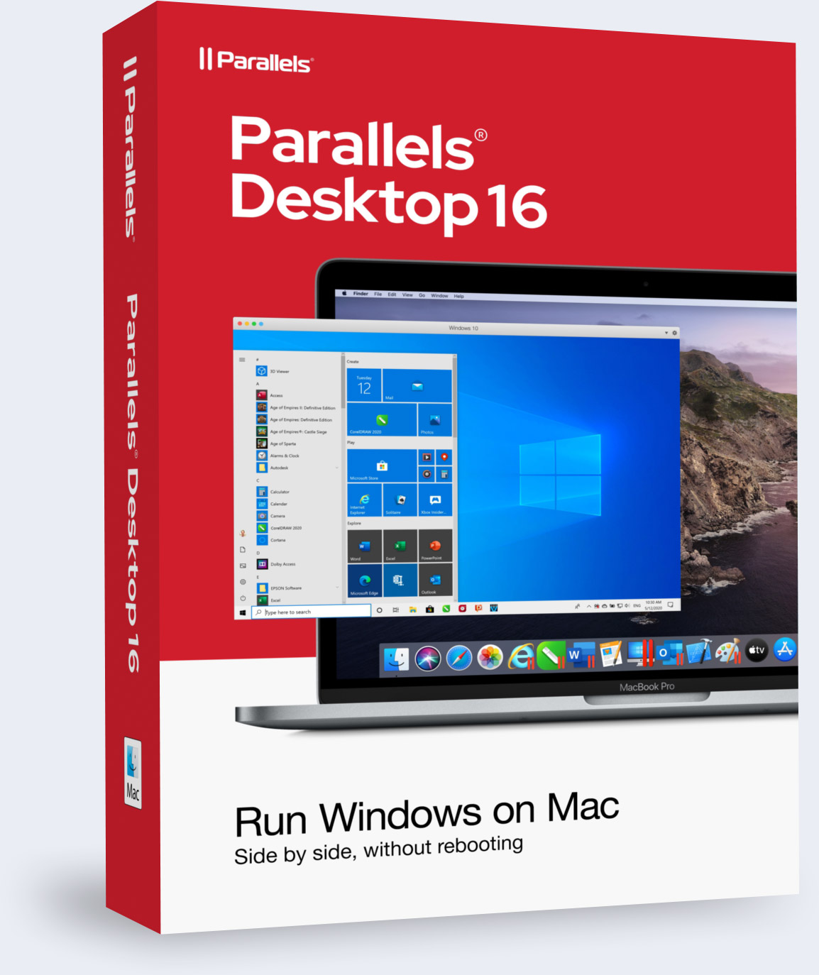Parallels Desktop Box Shot