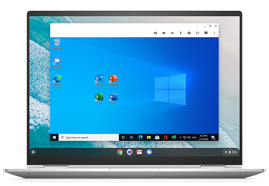 Parallels Desktop for Chrome OS