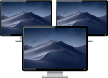Improved performance of multi-monitor feature in Mac and Windows