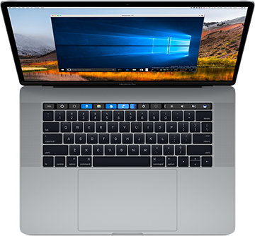 Add Windows applications to the MacBook Touch Bar