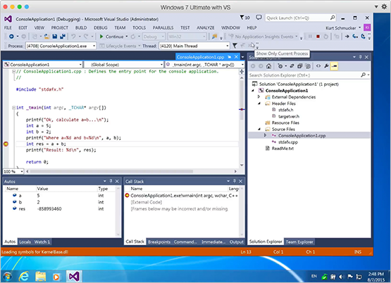 Visual Studio Plugin