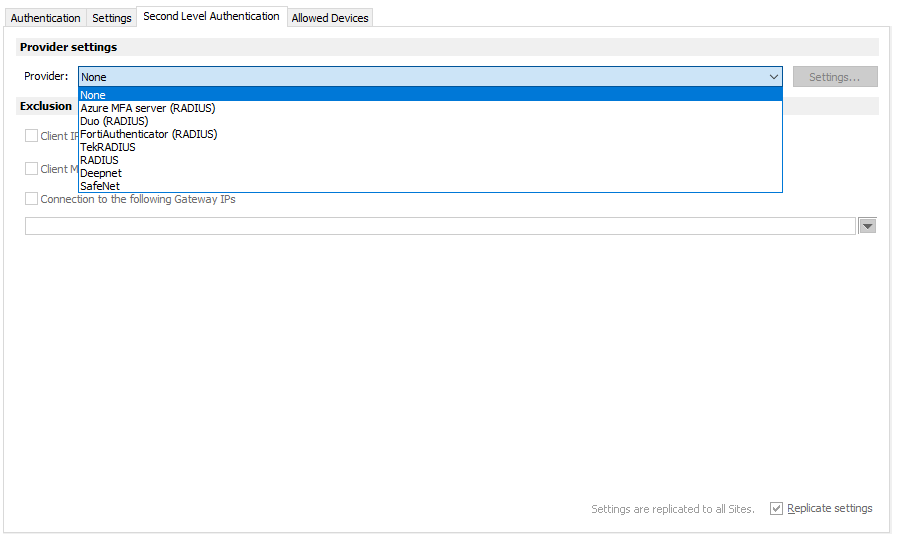 Security and Monitoring | Parallels RAS