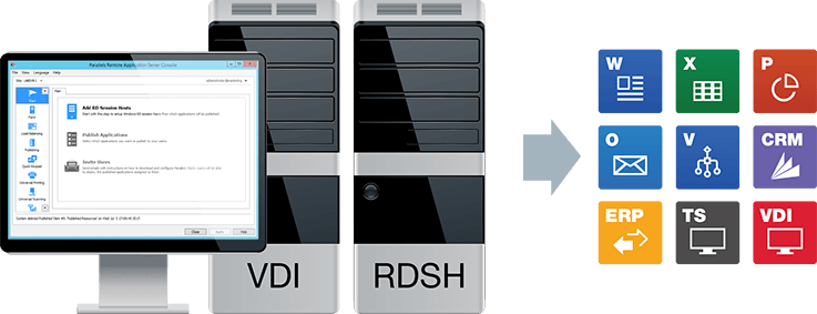remote application server