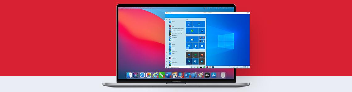 Parallels DesktopとmacOS Big Sur